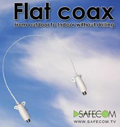 Safecom - Flat Coax